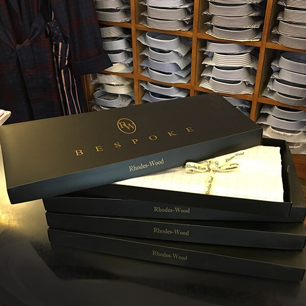 Bespoke Shirts in Boxes