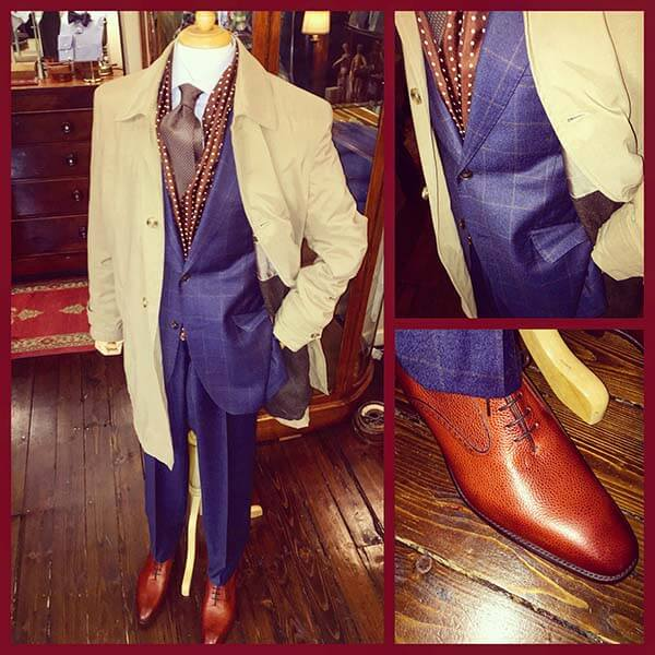 bespoke tailored suit