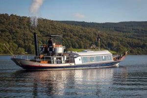 Steam Yacht Gondola Coniston Water