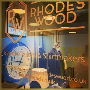 Rhodes Wood Bespoke Tailors and Shirtmakers
